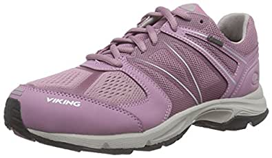 Viking Scarpe Outdoor Multisport Donna, Rosa (Rosa (Old Rose/Light Grey 5389)), 38 EU