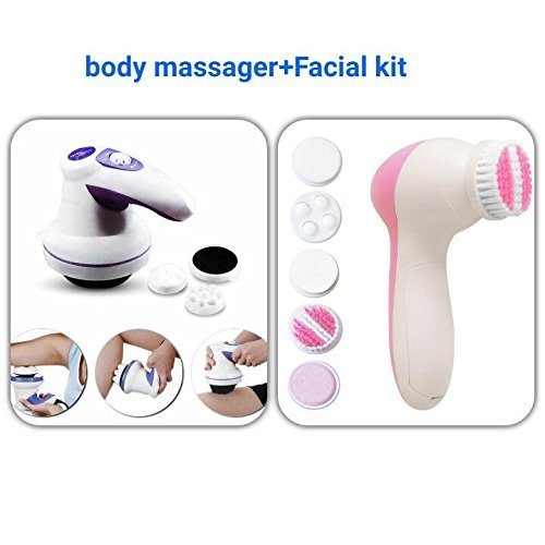 Manipol Body Massager Very Powerful WHOLE Body Massager Reduces weight and FAT+5 in 1 Facial Kit Free