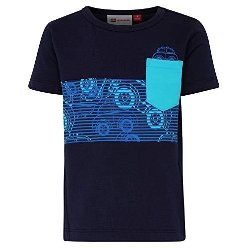 Lego Wear Baby-Jungen Duplo Boy Terrence 322-T-SHIRT T-Shirt, Blau (Dark Navy 590), (Herstellergröße: 98)