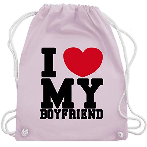 e my Boyfriend - Unisize - Pastell Rosa - WM110 - Turnbeutel & Gym Bag ()