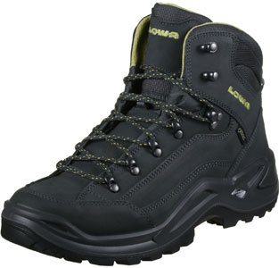 Lowa Renegade GTX Mid Sahara Dark Brown Gris