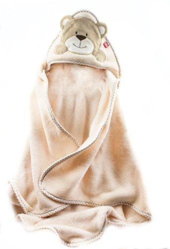 Baby Badehandtuch mit Kapuze. Mikrofaser - Kinder Kapuzenhandtuch - Warm und kuschelig! Test