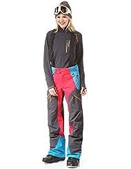 Peak Performance Tour, pantalones, pantalones pantalones de esquí, g54561004, mujer, color gris oscuro, tamaño M