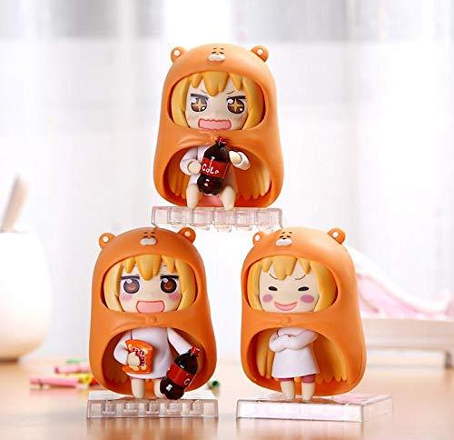 3 Teile/Satz Anime Himouto!Umaru-Chan DOMA Umaru Q Version PVC Action Figure Sammeln Modell Spielzeug 9 cm KT1769