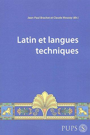 Latin et langues techniques