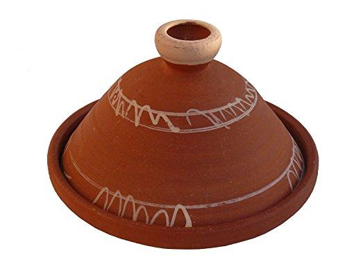 Marokkanische Tajine Berber zum Kochen unglasiert Ø 43 cm für 5-8 Personen - 905791-0005