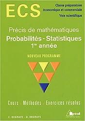Probabilités - Statistiques 1re année ECS