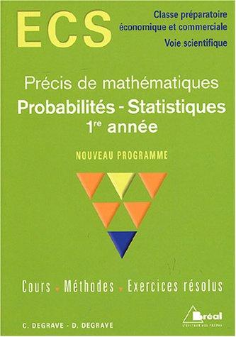 Probabilités - Statistiques 1re année ...