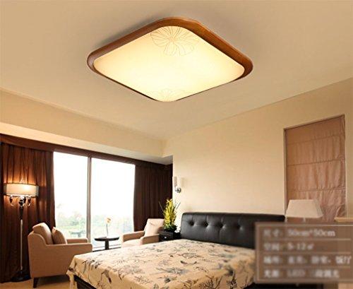 Sala de estar simple rectangular LED lámpara de techo ( Tamaño :...