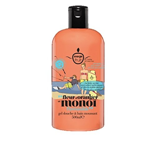 ENERGIE FRUIT - Gel douche & bain moussant fleur d'oranger et monoï - le flacon de 500 ml - (for multi-item order extra postage cost will be reimbursed) - Fruit Gel