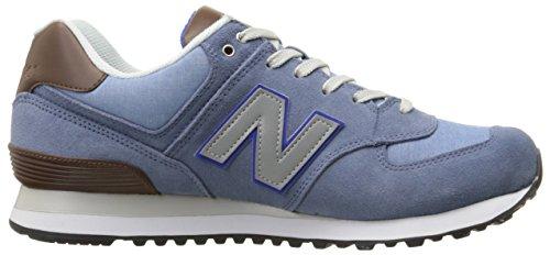 New Balance 486871 60, Baskets Basses Homme Bleu (Crater/047)