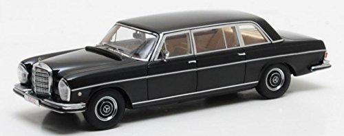 Matrix Mercedes W109 300SEL Lang Vatikan 1967 schwarz Modellauto 1:43 - Vatikan-modell