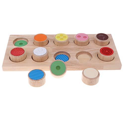 Non-brand Juguete Montessori Infantil Tablero Sensorial