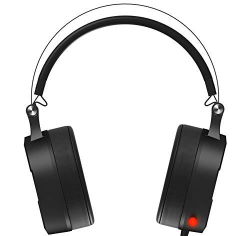 Das Spiel Kopfhörer, Schallkanal schalldichte große Ohr Abdeckung Esport Spiel Kopfhörer Mikrofon Stereo Bass Surround Stereo Rauschunterdrückung