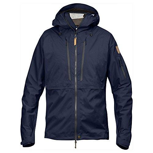 Fjallaven Keb Men's Eco-Shell Jacket, Men, 82411, Dark Navy, XXL