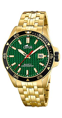 Orologio Lotus uomo 18654/2Acciaio Oro