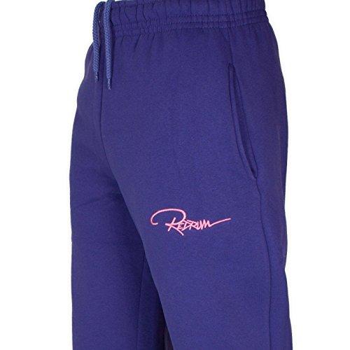 Redrum Plain Pant Hose Jogginghose Sweatpant Freizeithose Sporthose Lila