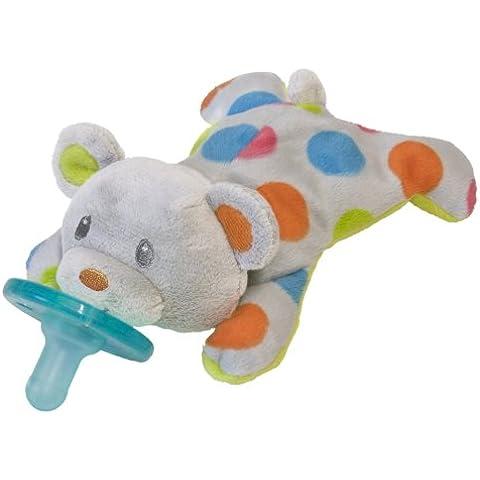 Wubbanub Confetti Wubbanub Plush Pacifier, Teddy
