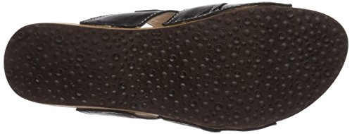 Woody Alessia, Chaussures de Claquettes femme Noir (Schwarz)