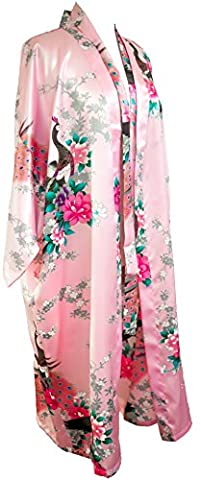 Kimono peacock 16 couleurs vinaigrette lingerie robe de robe vêtements