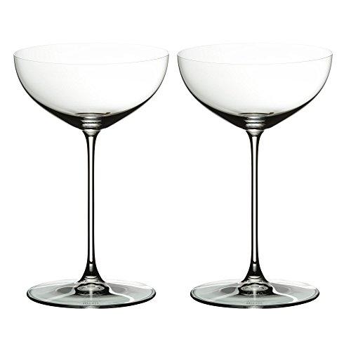 RIEDEL 6449/09 Veritas Cabernet/Merlot, 2-teiliges Rotweinglas Set, Kristallglas