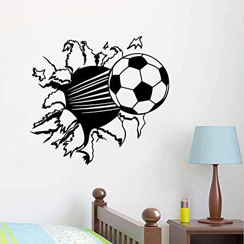 3 d fútbol papel de vinilo extraíble sala de estar dormitorio material...