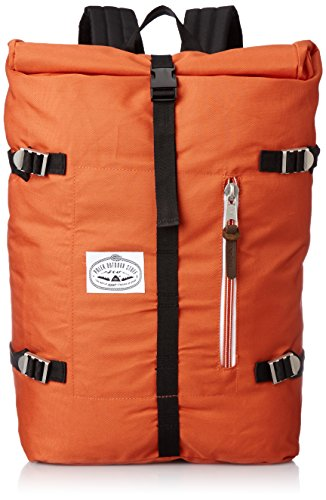 Poler Unisex Rucksack Retro Rolltop, 532020 Burnt Orange