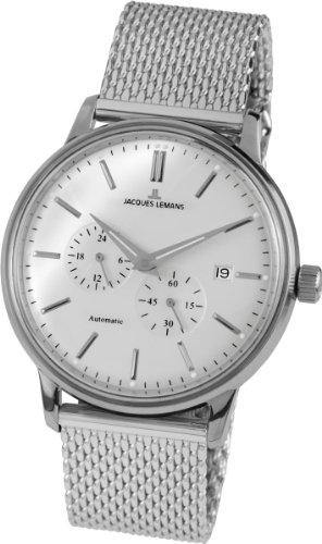 Jacques Lemans Unisex N-210C Nostalgia Classic Analog Automatic Movement Watch