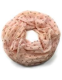 Damen Dreiecktuch Nickituch Halstuch 100/% Baumwolle aprikot grün pink