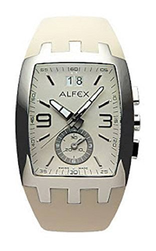 Alfex Reloj de pulsera hombre cronógrafo 5505