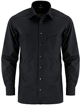 Camicia da uomo dal taglio moderno con maniche di lunghezza extra