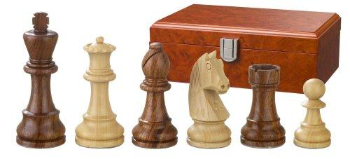 Philos-2185-Schachfiguren-Artus-Knigshhe-83-mm-doppelt-gewichtet-in-Figurenbox