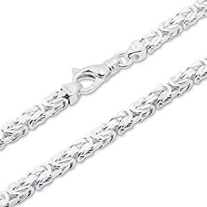 925 Silberkette: Königskette Silber 6mm breit - Länge frei wählbar KK0060