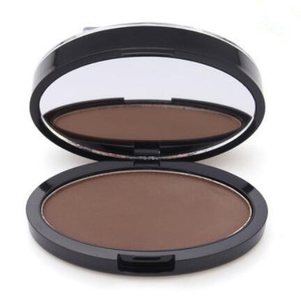 Bluelover Gris Brun Maquillage Sourcils Gel Front Timbre Poudre Étanche Yeux Cosmétiques Noir Brosse À Tête Outils - Brun