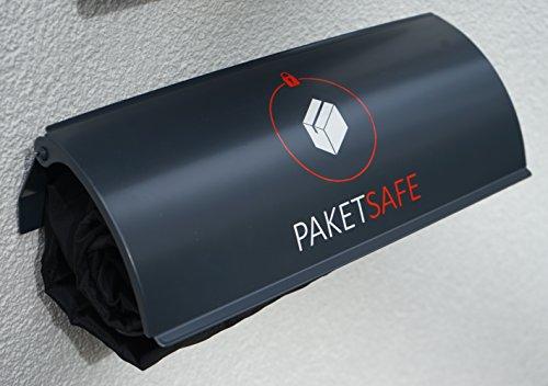 PAKETKASTEN für alle Paketdienste - platzsparend & sicher - anthrazit (RAL7016)