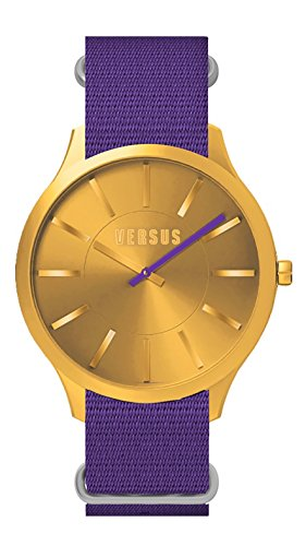 Versus SO606 0013-adulte mixte-Montre Bracelet Quartz-nylon Violet