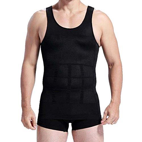 o-Best Herren Abnehmen Body Slim N Lift Shaper Bauch Buster Unterwäsche Weste Kompression, Herren, Schwarz, X-Large - Lift N Body Slim Shaper