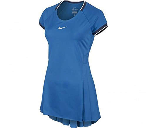 Nike abbigliamento donna Serena Williams Premier Dress, Uomo, Serena Williams Premier Dress, weiß, 22