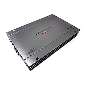 Excalibur X600.4 4-Kanal-Stereoverstärker (2400 W, Variabler Crossover, 2 Ohm)
