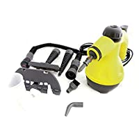 ‎‫منظف بخار HANDHELD 1000W PORTABLE STEAM CLEANER HAND HELD STEAMER STEAM CLEAN ATTACHMENT‬‎