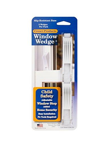 CRESCI (1) Produkte Fenster Keil (2Pro Pack) weiß Farbe (Keil Riegel)