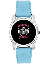 BigOwl Princesses Are Born In August | Birthday Gifts For Girls Fashion Watches For Girls - Awesome Gift For Daughter...