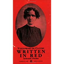 Written in Red: Selected Poems (Poets of Revolt Series)