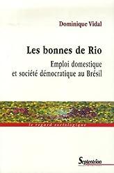 Les bonnes de Rio : Emploi domestique et société démocratique au Brésil