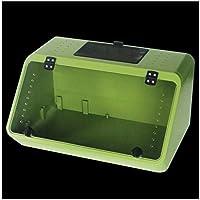 MZP Trasparente Pet Rettili Box Acrilico Allevamento Serbatoi Contenitore per Lucertola Camaleonte Spider Snake Altri Rettili (Color : Green, Size : 48x32x25.5cm)