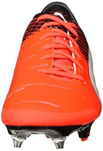 Puma Evopower 2.3 Mx Sg, Scarpe da Calcio Uomo Red Blast/Bianco/Nero
