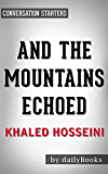Conversations on And the Mountains Echoed by Khaled Hosseini | Conversation Starters (English Edition)