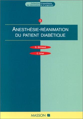 Anesthésie et réanimation du patient diabétique