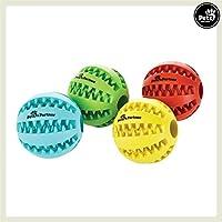 Pets&Partner Hundespielzeug Leckerlie Ball in Verschiedenen Farben, Rot