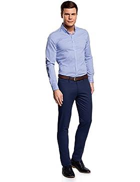 [Patrocinado]oodji Ultra Hombre Pantalones Chinos Básicos